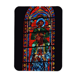 St. John the Evangelist riding the shoulders of Ez Magnet