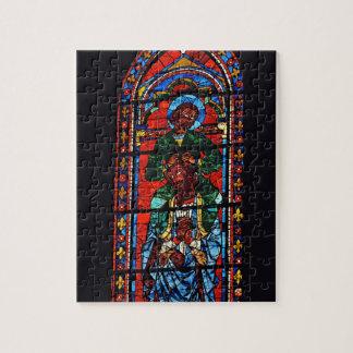 St. John the Evangelist riding the shoulders of Ez Puzzle
