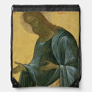 St. John the Forerunner Drawstring Backpack