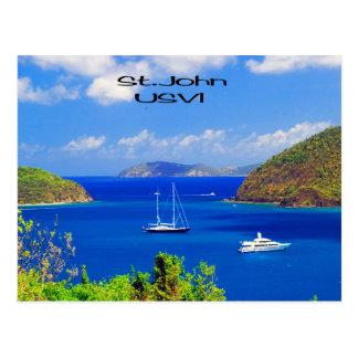 St. John U.S.V.I. Postcard