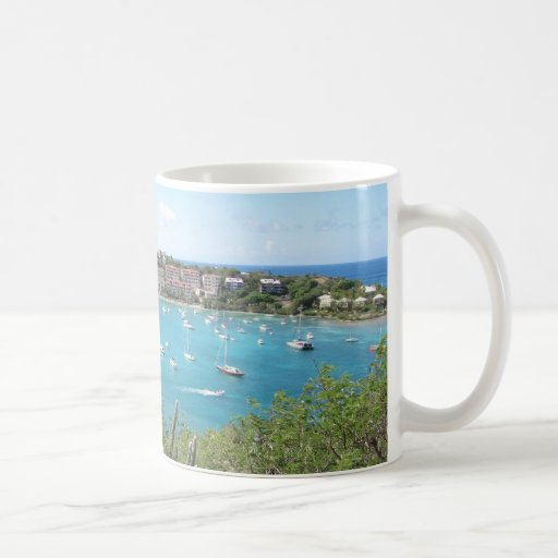 St. John US Virgin Island Classic White Coffee Mug