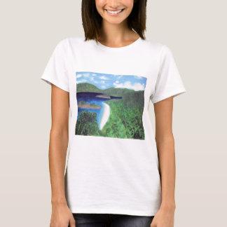 St John, US Virgin Islands Beach View T-Shirt