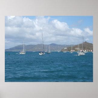 St. John, US Virgin Islands Poster