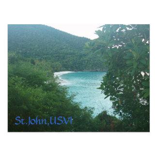 St.John,USVI Postcard