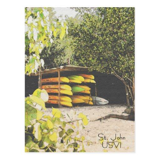 St. John USVI Postcard