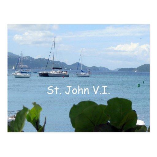 St. John, V.I. Postcard