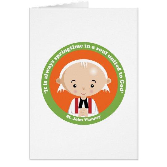 St. John Vianney Card