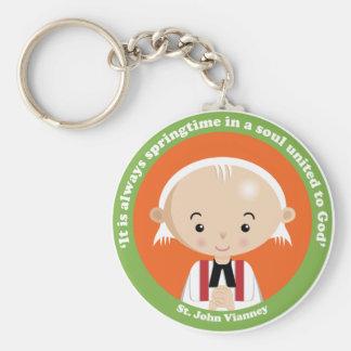 St John Vianney Key Chains