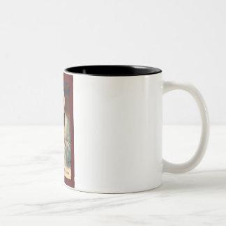 St. John Vianney Two-Tone Coffee Mug