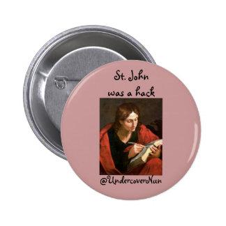 St. John was a hack Pins
