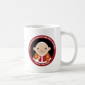 St. John XXIII Classic White Coffee Mug