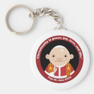 St. John XXIII Keychain