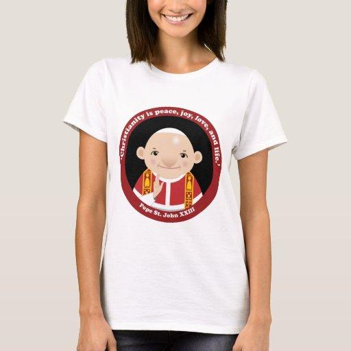 St John Xxiii T Shirt Zazzle