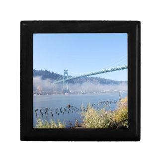 St. Johns Bridge, Beautiful Portland Oregon Gift Box