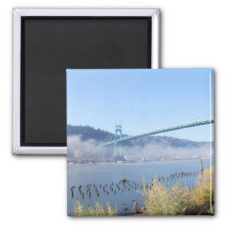 St. Johns Bridge, Beautiful Portland Oregon Magnet