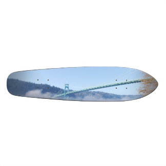 St. Johns Bridge, Beautiful Portland Oregon Skateboard