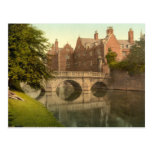St John's Bridge, Cambridge, England Post Card