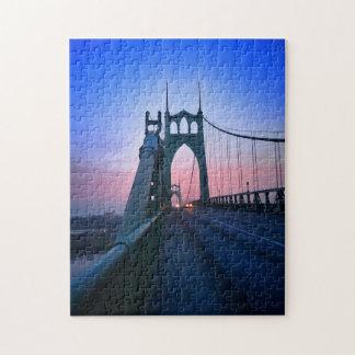 St Johns Bridge South Jigsaw Puzzle