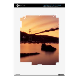 St Johns Bridge Sunset iPad 3 Skins