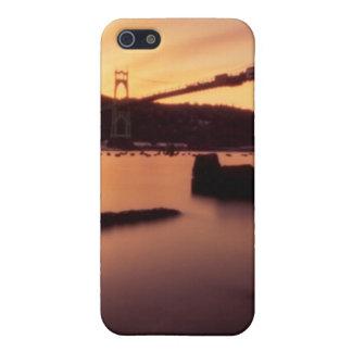 St Johns Bridge Sunset iPhone SE/5/5s Cover