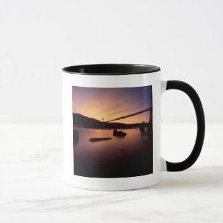 St Johns Bridge Sunset Mug
