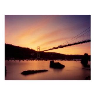 St Johns Bridge Sunset Postcards