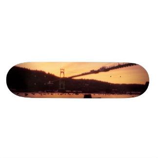 St Johns Bridge Sunset Skateboard