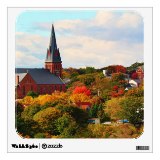 St. John's Catholic Church in Bangor, Maine Wall Decal