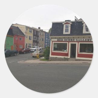 St. John's Classic Round Sticker
