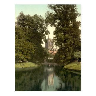 St John's College Chapel, Cambridge, England Postcard