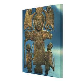St. John's Crucifixion Plaque, late 7th Century Gallery Wrapped Canvas