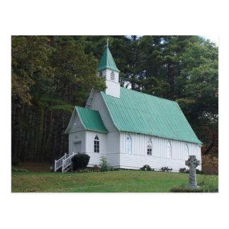 St. John's Episcopal Church, Valle Crucis, NC Postcard