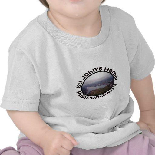 St. John's Harbor, Newfoundland Baby Clothes Tee Shirt