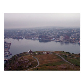 St. John's Harbor, Newfoundland Postcard