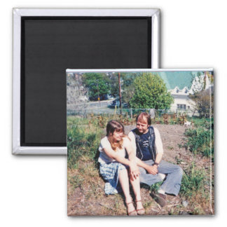 St. John's Newfoundland 2 Inch Square Magnet
