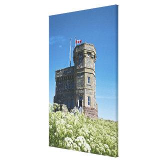 St. John's, Newfoundland, Canada, Cabot Tower, Canvas Print