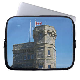 St. John's, Newfoundland, Canada, Cabot Tower, Laptop Sleeve