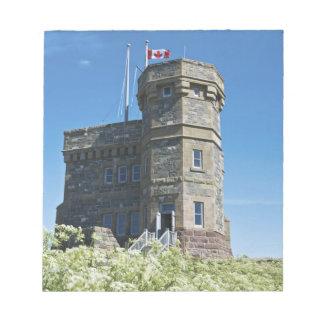 St. John's, Newfoundland, Canada, Cabot Tower, Notepad