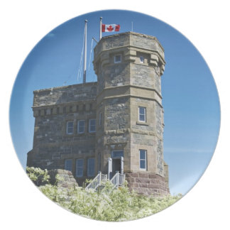 St. John's, Newfoundland, Canada, Cabot Tower, Party Plate