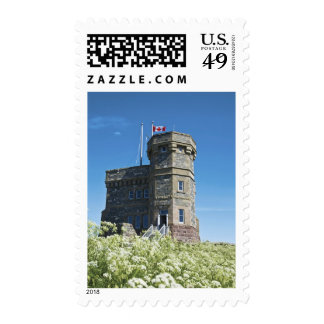 St. John's, Newfoundland, Canada, Cabot Tower, Postage Stamp