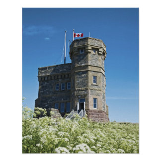 St. John's, Newfoundland, Canada, Cabot Tower, Poster