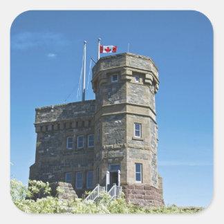 St. John's, Newfoundland, Canada, Cabot Tower, Square Sticker