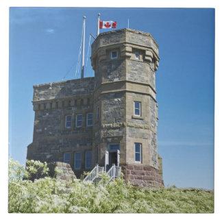 St. John's, Newfoundland, Canada, Cabot Tower, Tile