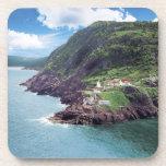 St. John's, Newfoundland, Canada, historic Fort Beverage Coaster