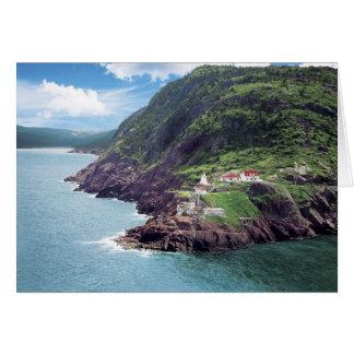 St. John's, Newfoundland, Canada, historic Fort Greeting Card