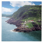St. John's, Newfoundland, Canada, historic Fort Ceramic Tile