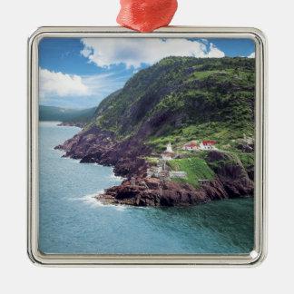St. John's, Newfoundland, Canada, historic Fort Metal Ornament