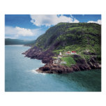 St. John's, Newfoundland, Canada, historic Fort Poster