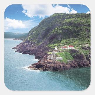 St. John's, Newfoundland, Canada, historic Fort Square Sticker