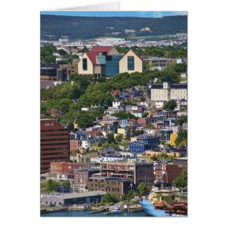St. John's, Newfoundland, Canada, the Card